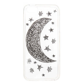 Moon and Stars Phone Case,