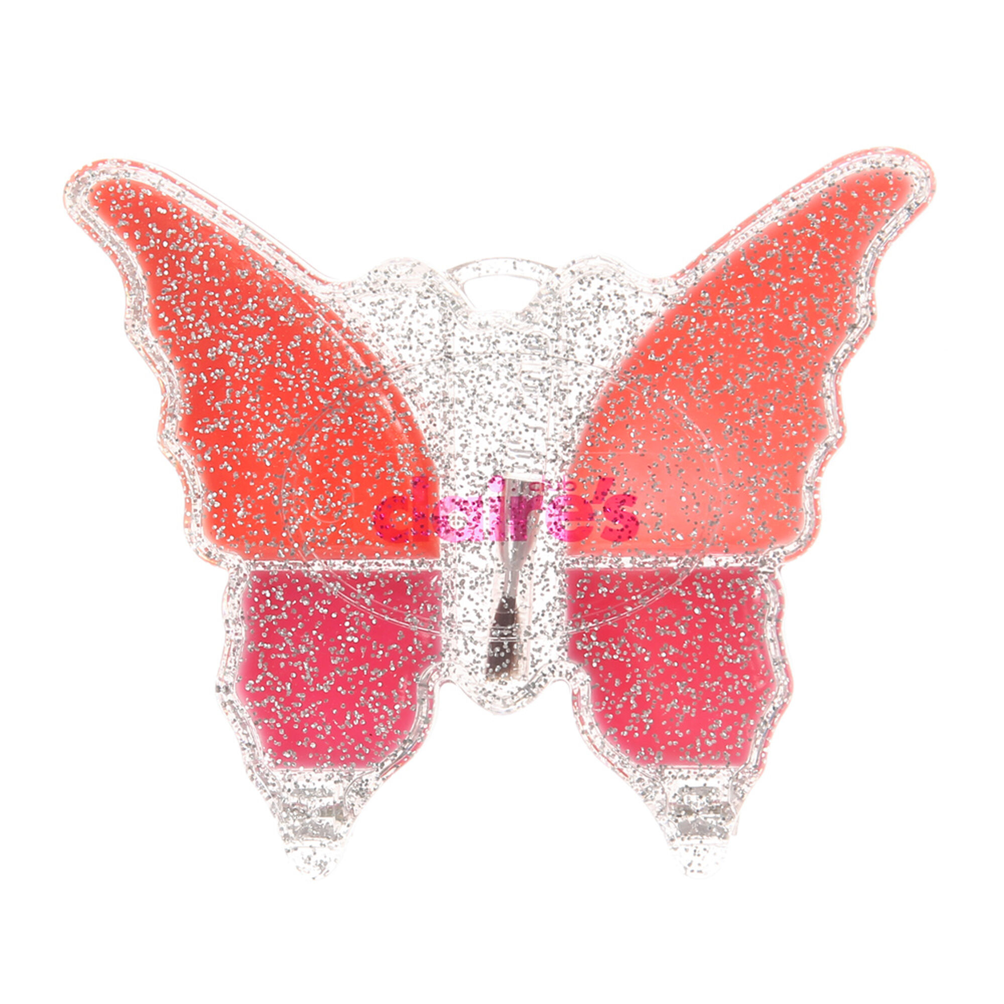 kids butterfly lip gloss palette claire u0027s us