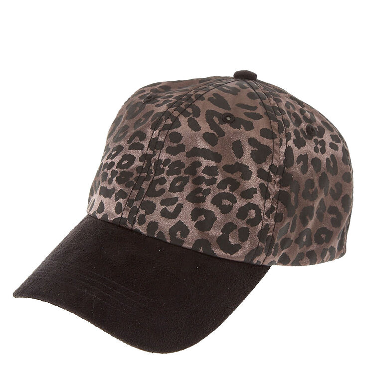 Leopard Print Baseball Hat,