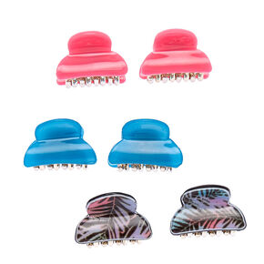 Rainbow Palm Mini Hair Claws,