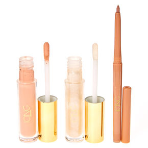 Matte & Shine 3 Piece Nude Lip Kit,