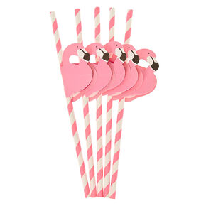 Flamingo Paper Straws,