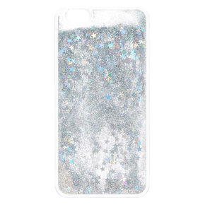 samsung galaxy s6 phone cases for girls. silver stars liquid fill phone case samsung galaxy s6 cases for girls e