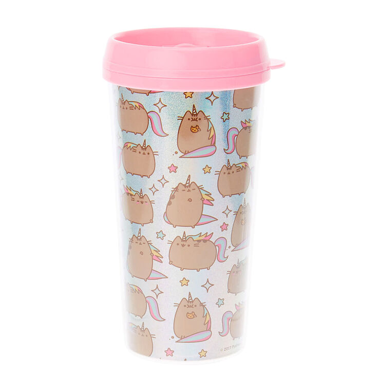 pusheen unicorn travel mug claire 39 s. Black Bedroom Furniture Sets. Home Design Ideas