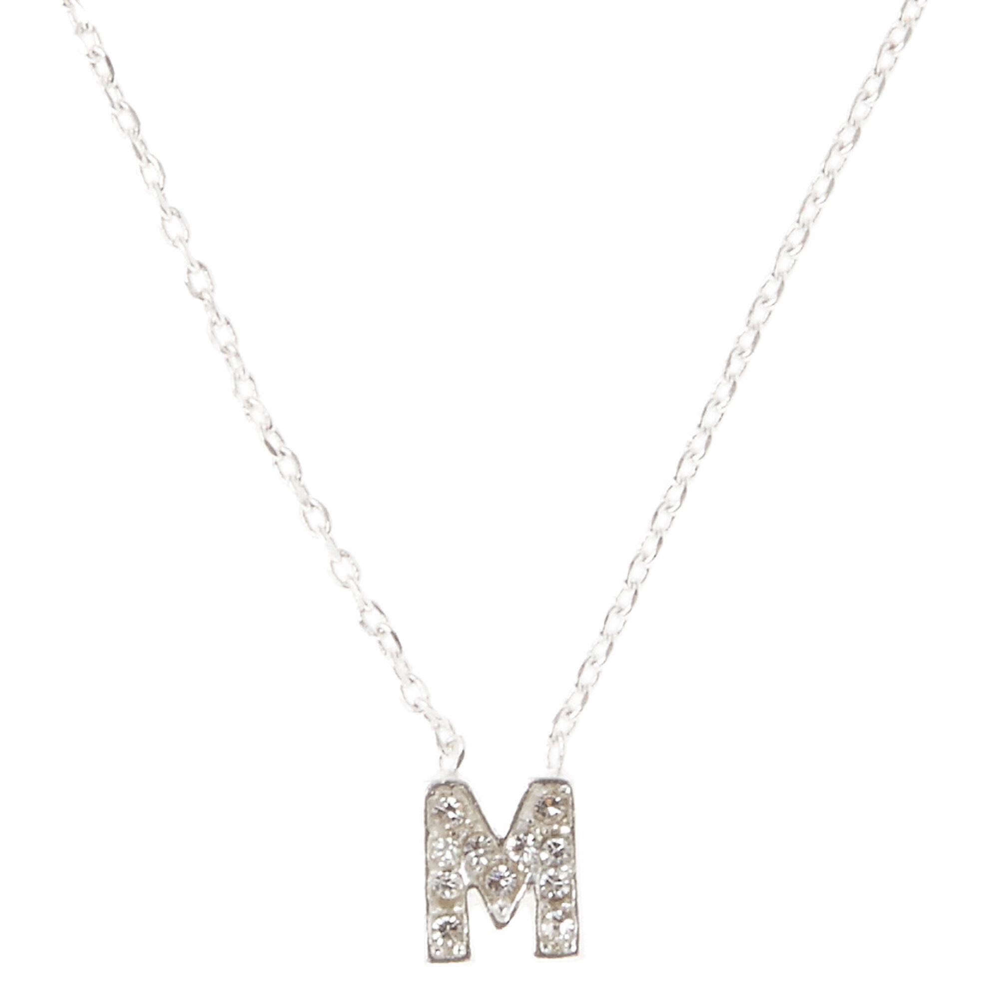 m pendant necklace s us