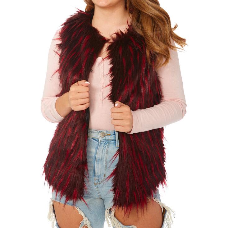 Audrey Faux Fur Vest,