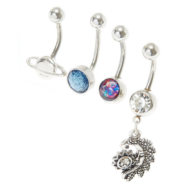 Out of This World Belly Button Ring Set | Claire's US