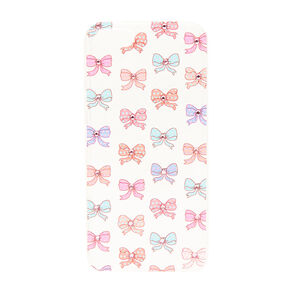 Bow and Crystal Clear Phone Case,