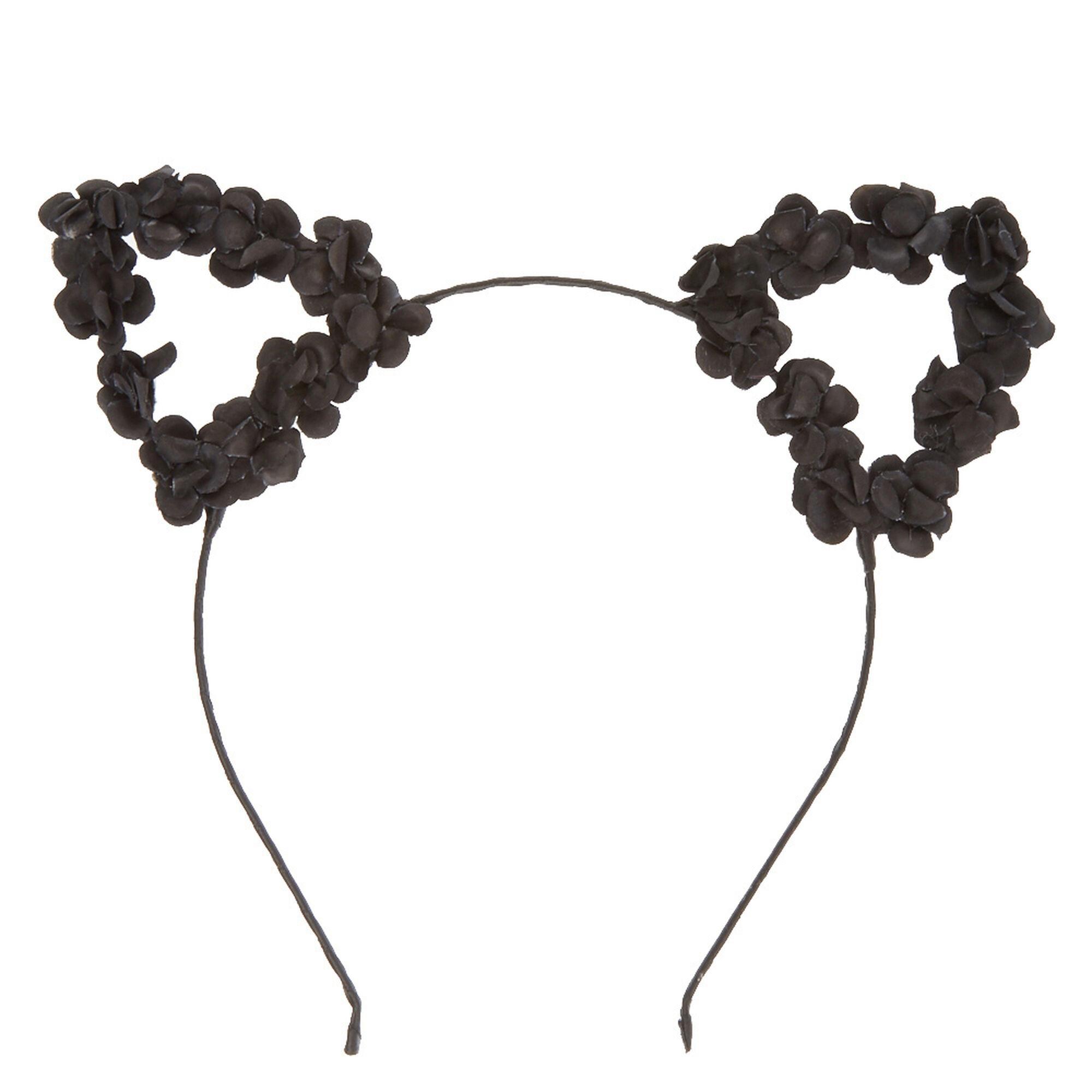 Black Cat Ears Headband Uk