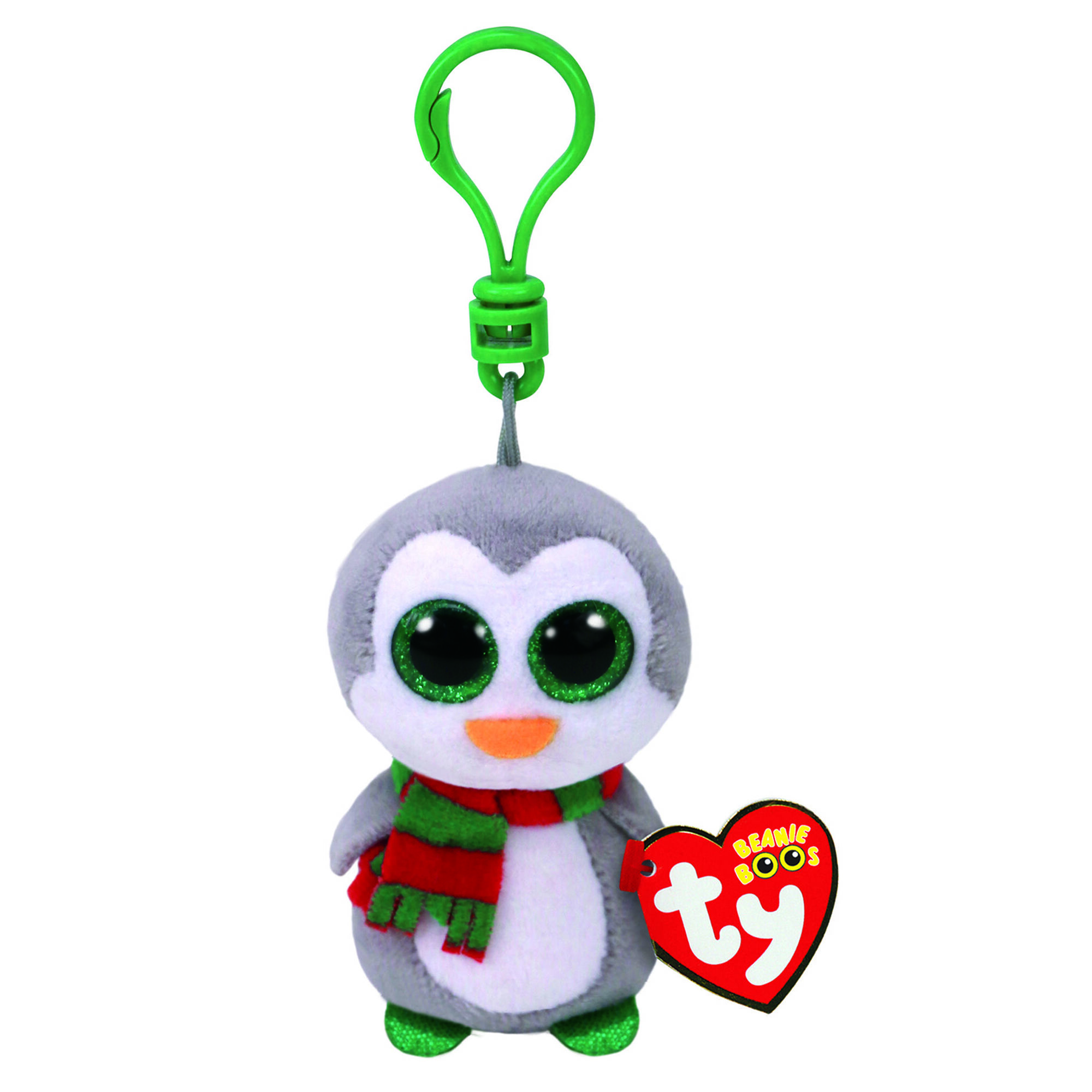 ty beanie boo chilly the penguin keyring clip claire u0027s us