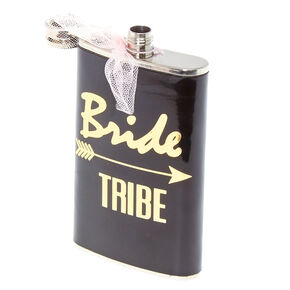 Black Bride Tribe Flask,