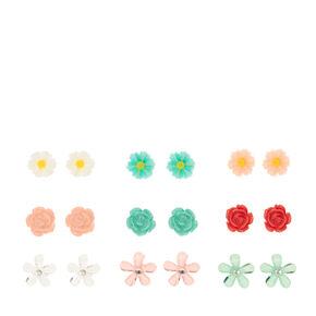 Pastel Garden Stud Earrings,
