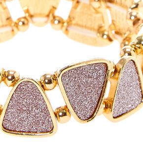 Rose Gold Glitter Tape Bracelet,