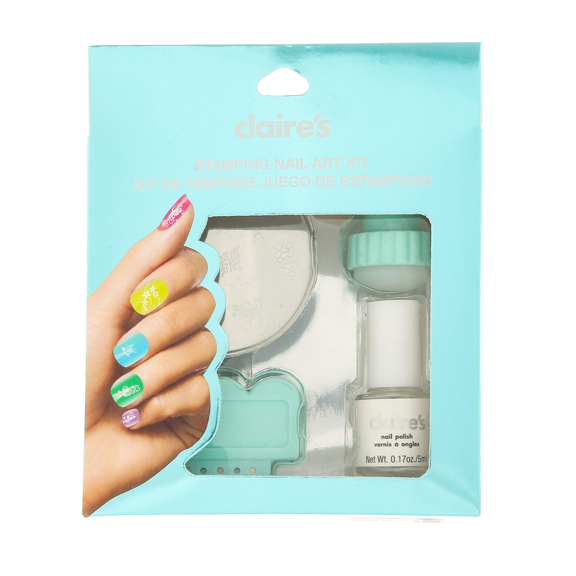 Mint stamping nail art kit claires mint stamping nail art kit prinsesfo Image collections