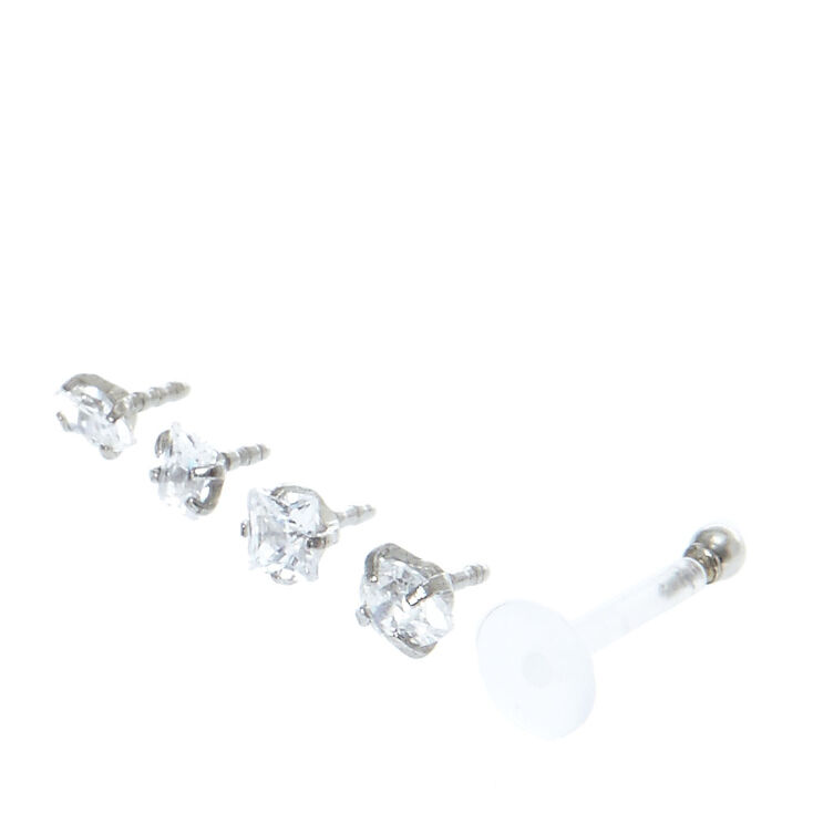 Labret and Monroe Faux Crystal Pack,