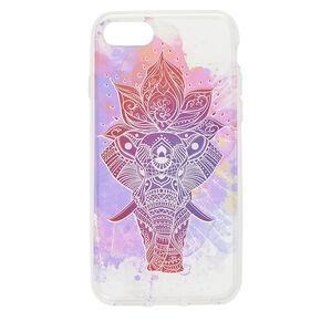Water Color Aztec Elephant Phone Case,