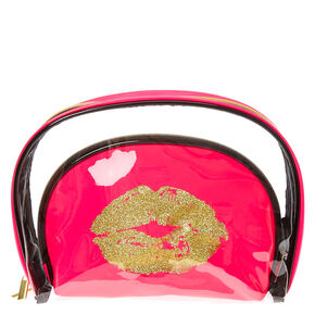 There's Always Lipstick Cosmetic Bag Duo,