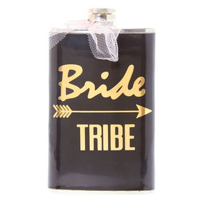 Black Bride Tribe Flask,