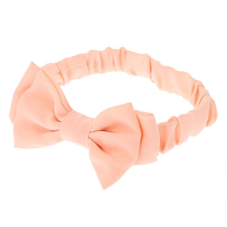 Double Floppy Pink Headwrap,