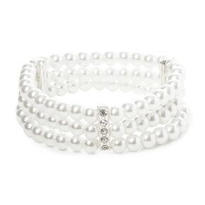 Classic Pearl Stretch Bracelet,