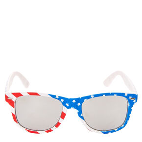 Stars and Stripes Round Sunglasses,