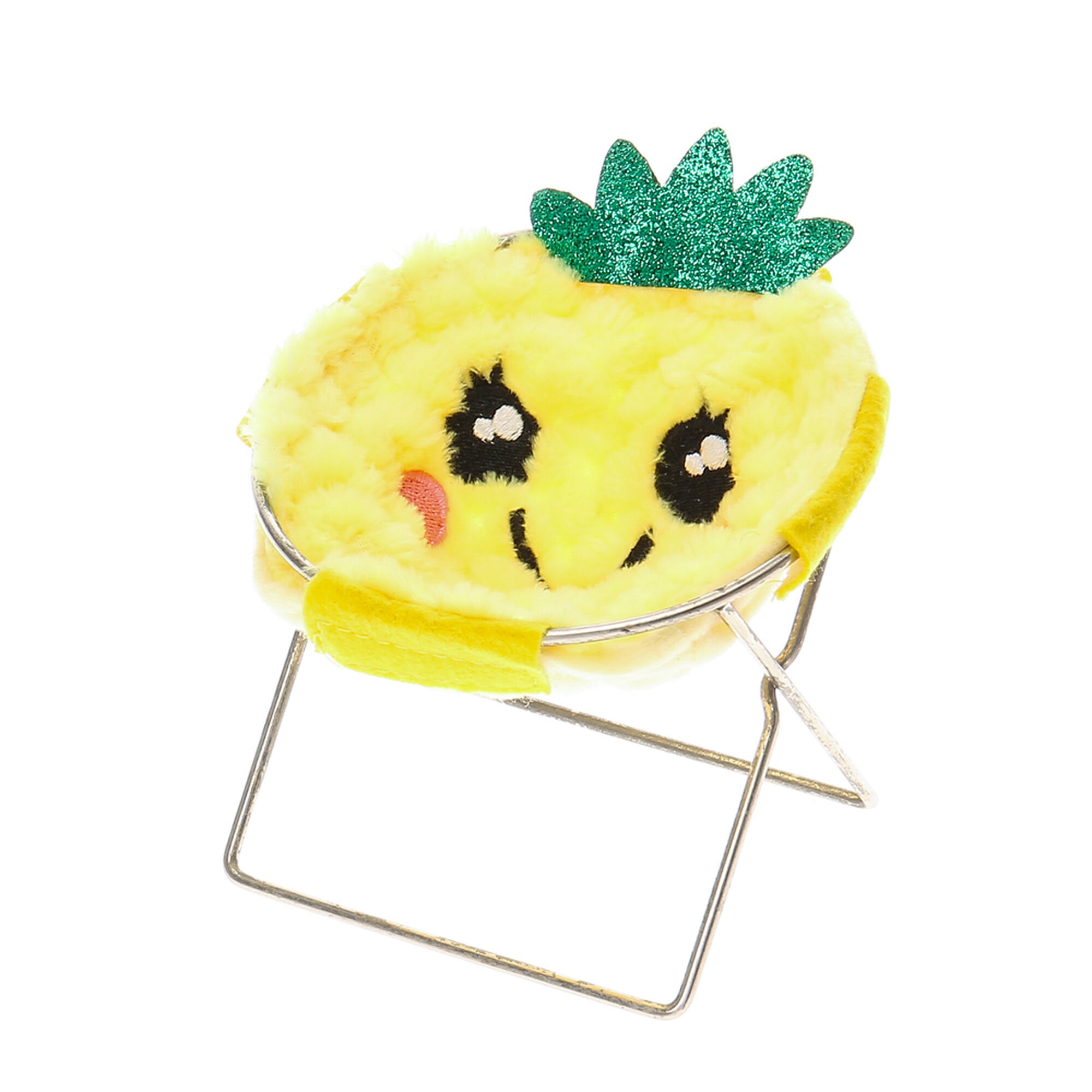 Furry Pineapple Phone Holder Chair Claire S Us