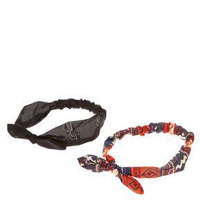 Western Bow Headwrap Set,