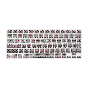 Aztec Print Silicone MacBook Keyboard Cover,