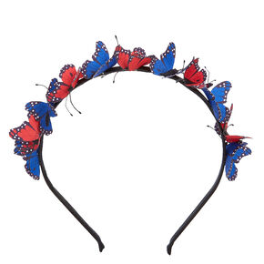 Patriotic Butterflies Headband,
