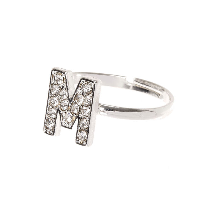 M Initial Adjustable Ring,