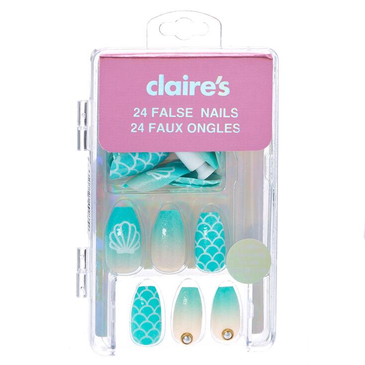 mermaid coffin false nails claire 39 s us. Black Bedroom Furniture Sets. Home Design Ideas