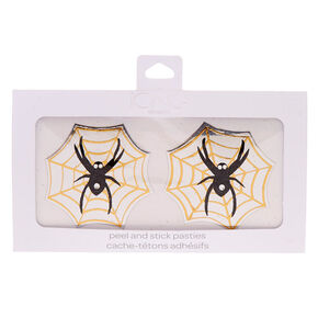 Spider Web Peel And Stick Pasties,