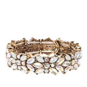 Art Deco Crystal Vine Bracelet,