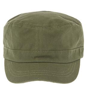 Dark Green Military Cap,