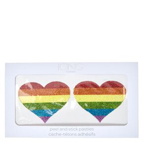 Rainbow Heart Pasties,