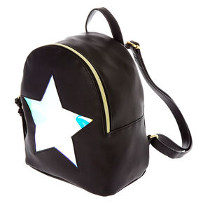 Holographic Star Mini Backpack,