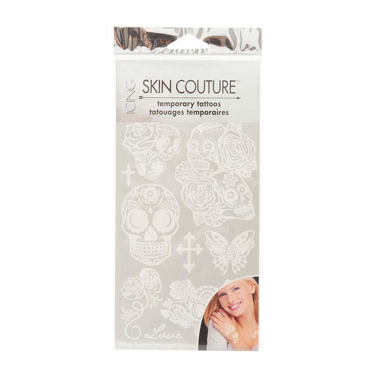 Skin Couture White Temporary Tattoos,