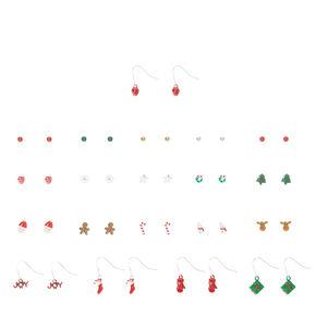 Christmas Mix Earrings,