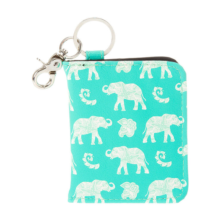 Elephant ID Card Holder Key Ring at Icing in Victor, NY | Tuggl