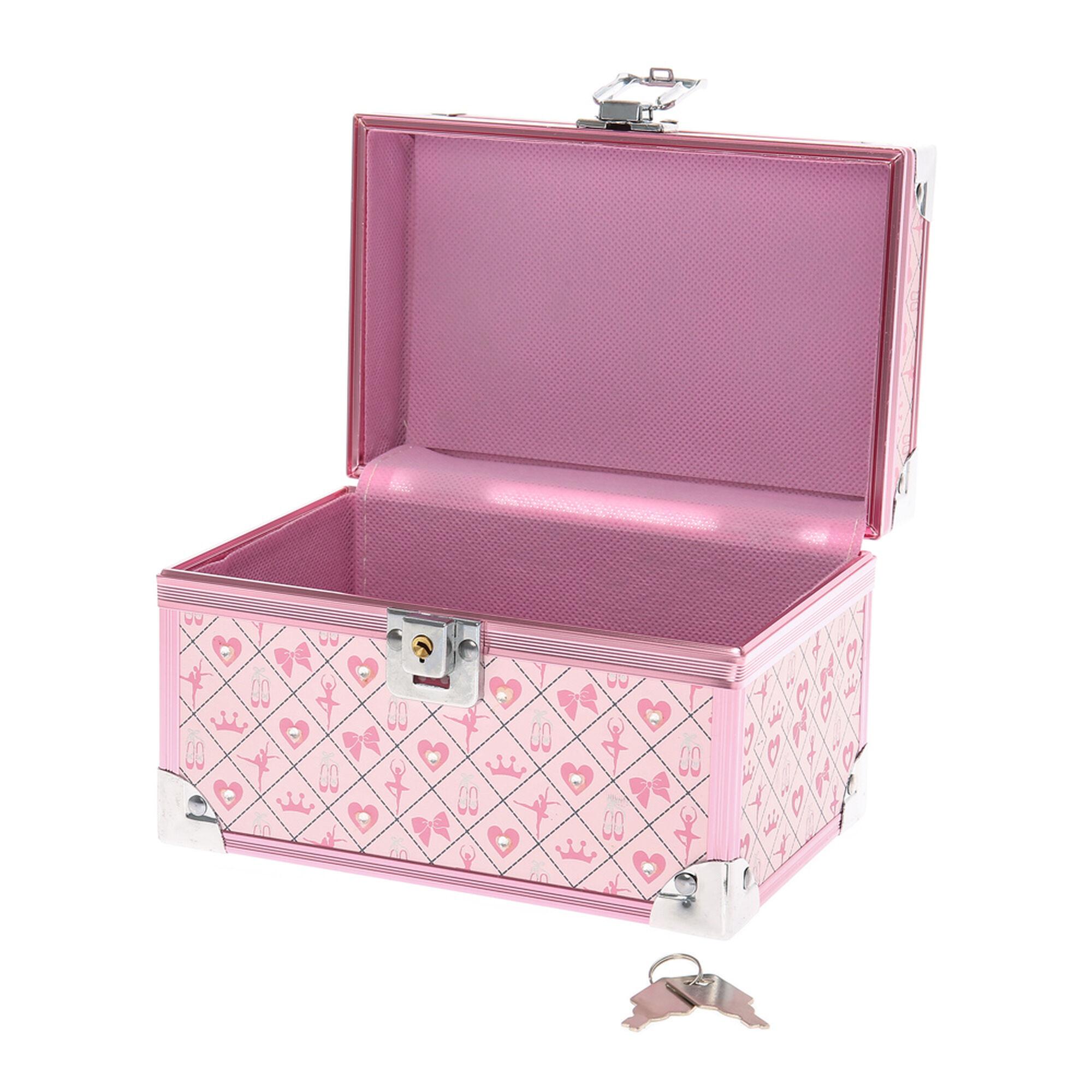 kids ballerina print lock box claire u0027s ca