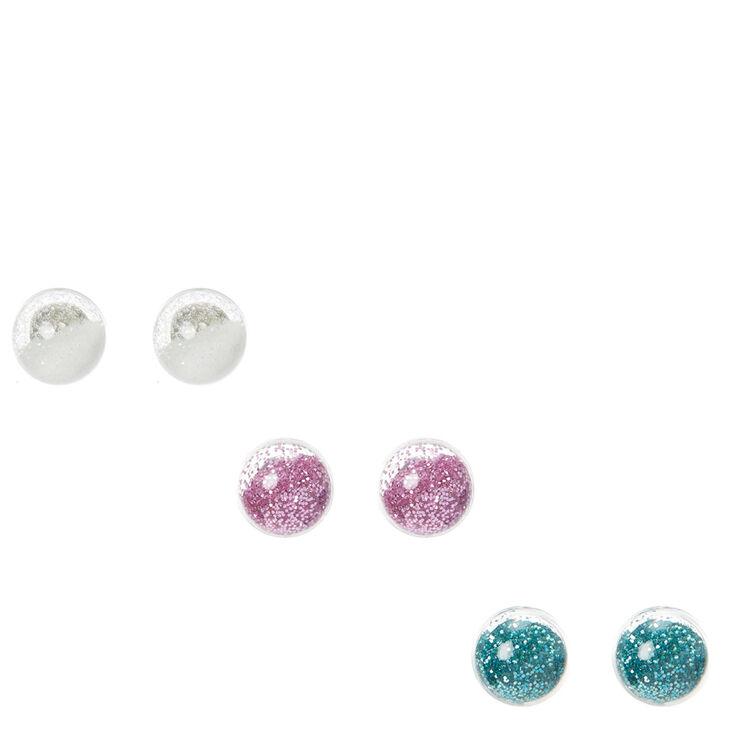 Fairy dust shaker stud earrings claire s us