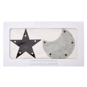 Star & Moon Peel And Stick Pasties,