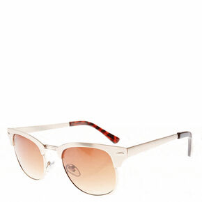 Gold Retro Sunglasses,