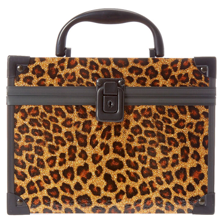 Glitter Leopard Print Lock Box at Icing in Victor, NY | Tuggl
