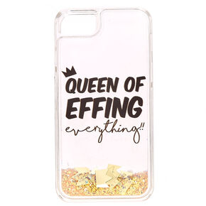 Queen Liquid Glitter Phone Case,