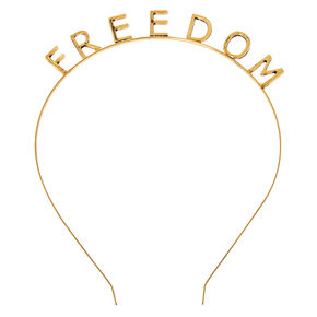 Gold Freedom Headband,