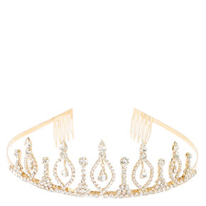Royal Gold Chandelier Tiara,