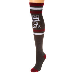 Dark Zero Fs Knee High Socks,