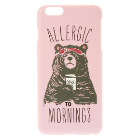 Allergic To Mornings Phone Case,