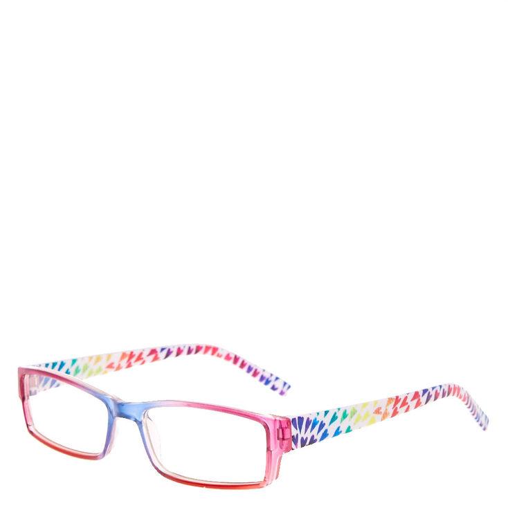 Kids Rainbow Hearts Rectangle Frames